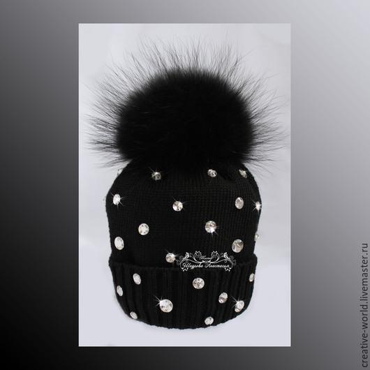 Шапки и шарфы ручной работы. Ярмарка Мастеров - ручная работа. Купить шапочка теплая детская мериносовая. Handmade. Детские шапочки