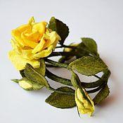 Браслет из бусин ручной работы. Ярмарка Мастеров - ручная работа Браслет розочка. Handmade.