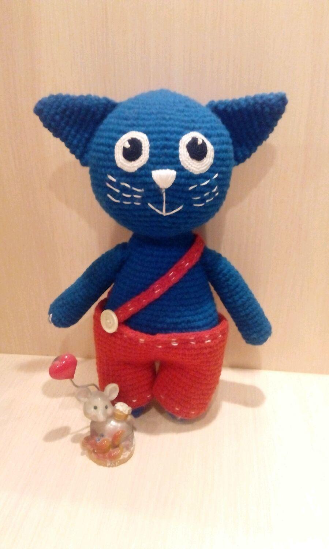 Синий Кот, Мягкие игрушки, Москва,  Фото №1
