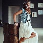 Одежда ручной работы. Ярмарка Мастеров - ручная работа Платье-бохо. Handmade.