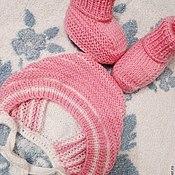 Работы для детей, ручной работы. Ярмарка Мастеров - ручная работа Комплекты для новорожденных. Handmade.