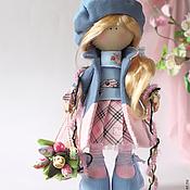 Куклы и игрушки ручной работы. Ярмарка Мастеров - ручная работа Марта. Кукла текстильная. Большеногая девочка.. Handmade.