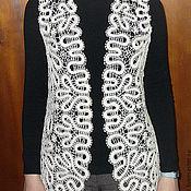 Одежда ручной работы. Ярмарка Мастеров - ручная работа Кружевной жилет. Handmade.