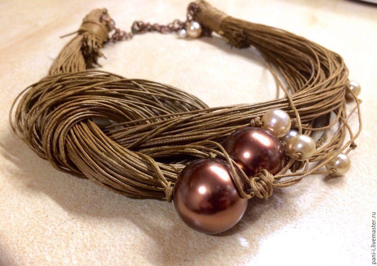 Плетение из вощеного шнура: как сплести браслет