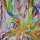 Абстракция ручной работы. Живая музыка Чайковского. Наталия (nataliyamazanik). Интернет-магазин Ярмарка Мастеров. Подарок, подарок девушке