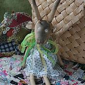 Куклы и игрушки ручной работы. Ярмарка Мастеров - ручная работа коза Роза. Handmade.