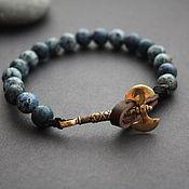 Bead bracelet handmade. Livemaster - original item Bracelet with axe. Handmade.
