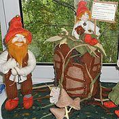 """Куклы и игрушки ручной работы. Ярмарка Мастеров - ручная работа Куклы из шерсти """"Сказка о гномах"""". Handmade."""