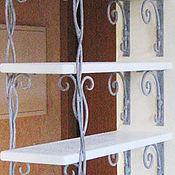 Для дома и интерьера handmade. Livemaster - original item Wrought iron display rack for shelves.. Handmade.