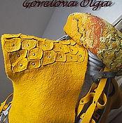 """Одежда ручной работы. Ярмарка Мастеров - ручная работа валяный жилет """"Афина"""". Handmade."""