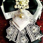 Украшения handmade. Livemaster - original item Bow brooch. Handmade.