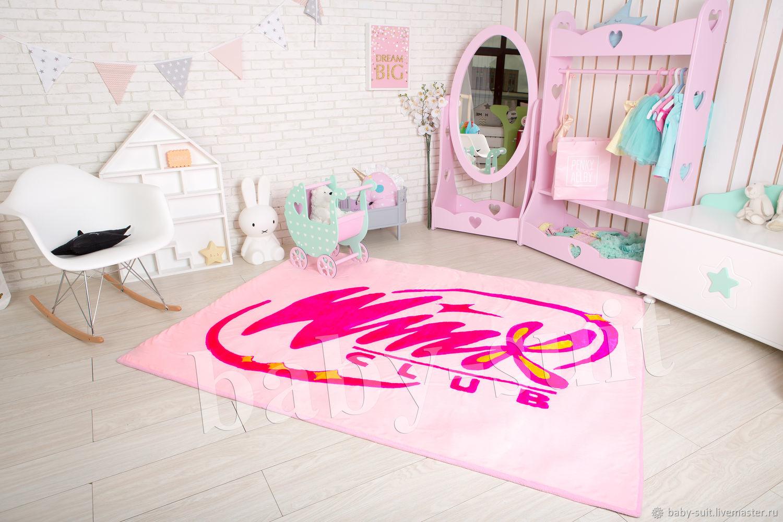 Детский коврик Винкс (Winx club) для малышей и детей