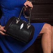 Сумки и аксессуары handmade. Livemaster - original item Bag leather Stingray IMC0043BW. Handmade.
