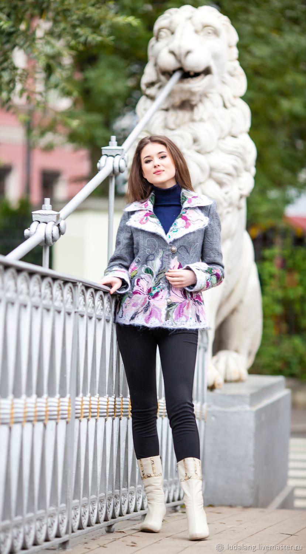 Woolen jacket Oktyabrina, Suit Jackets, St. Petersburg,  Фото №1