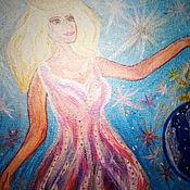 """Картины ручной работы. Ярмарка Мастеров - ручная работа Картины: """"Ночь"""". Handmade."""