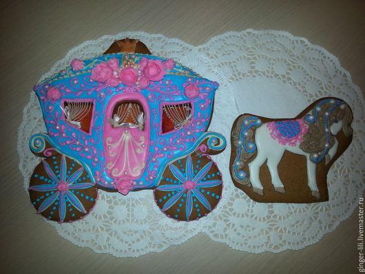 """Кулинарные сувениры ручной работы. Ярмарка Мастеров - ручная работа. Купить Пряники """"для настоящей  принцессы"""". Handmade. Разноцветный"""