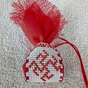 Статуэтки ручной работы. Ярмарка Мастеров - ручная работа Одоленька-обережная подвесь с лавандой. Handmade.