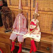 Куклы и игрушки handmade. Livemaster - original item Christmas gnomes. Handmade.