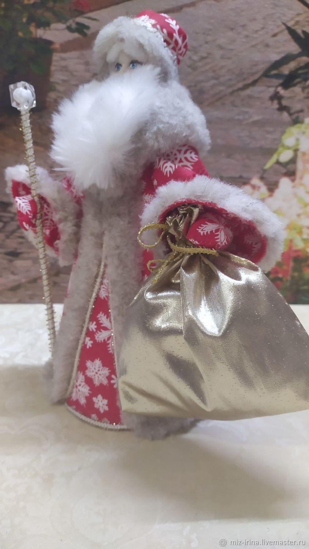 Дедушка Мороз, Народная кукла, Суздаль,  Фото №1
