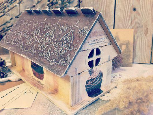 Кухня ручной работы. Ярмарка Мастеров - ручная работа. Купить Шоколадный чайный домик. Handmade. Чай, для чая, интерьерное украшение