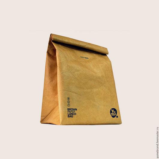 Сумки и аксессуары ручной работы. Ярмарка Мастеров - ручная работа. Купить Paper Lunch Bag / YPB-2. Handmade.