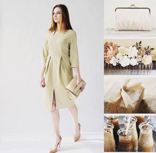 Платья ручной работы. Ярмарка Мастеров - ручная работа. Купить Платье со складками. Handmade. Платье, платье бежевое