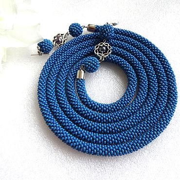 Decorations handmade. Livemaster - original item Lariat bead harness