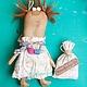 кукла на удачу, хранительница, подарок подруге, смешной подарок, кукла примитив, чердачная кукла, ручная работа, забавная кукла