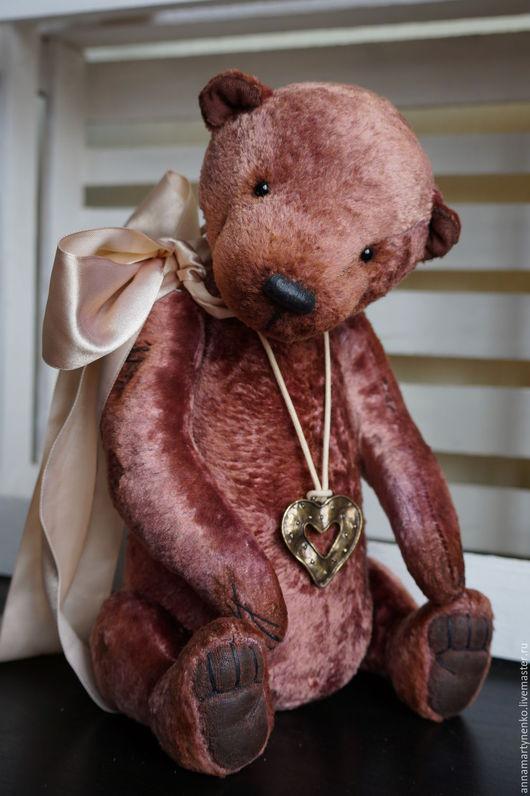 Мишки Тедди ручной работы. Ярмарка Мастеров - ручная работа. Купить Мой плюшевый друг - коллекционный медвежонок. Handmade. Коричневый