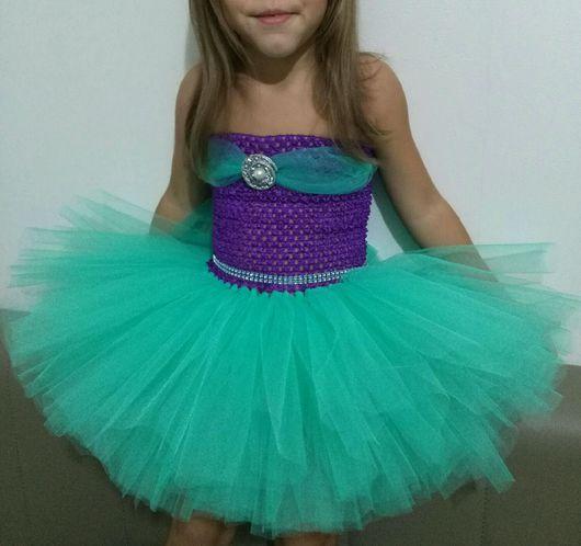 """Одежда для девочек, ручной работы. Ярмарка Мастеров - ручная работа. Купить Платье tutu """"Русалочка"""". Handmade. Платье для девочки, туту"""