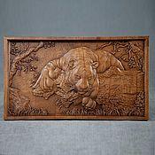 Panels handmade. Livemaster - original item Panels: Tiger. Handmade.