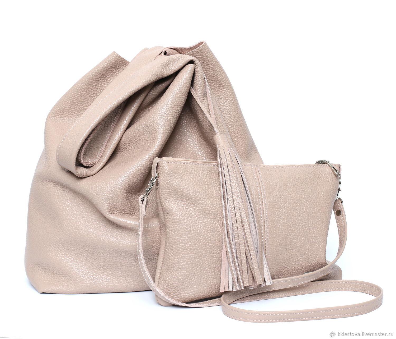 BagsByKaterinaKlestova Handbags handmade. Bag - Bag Pack - large size  makeup bag and purse. BagsByKaterinaKlestova 42d112990032c