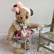Куклы и игрушки ручной работы. Ярмарка Мастеров - ручная работа Мишка тедди  Дуняша.. Handmade.