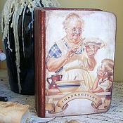 Для дома и интерьера ручной работы. Ярмарка Мастеров - ручная работа Бабушкин пирог. Книга-шкатулка. Handmade.