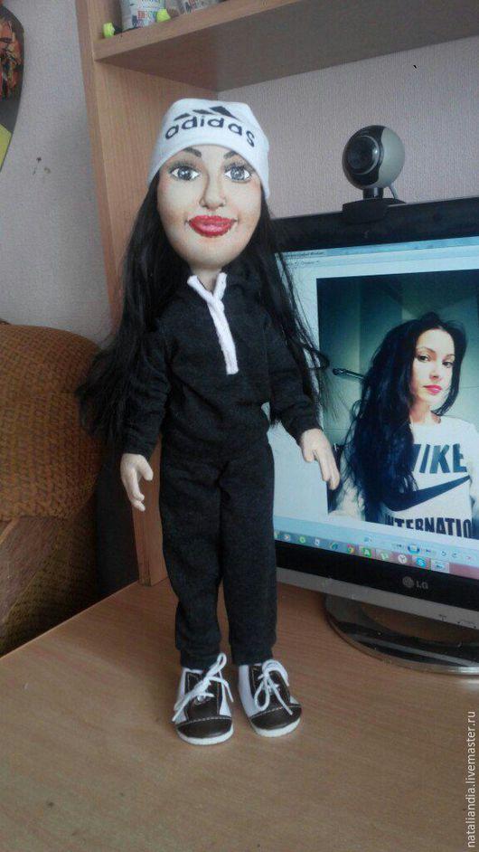 Портретные куклы ручной работы. Ярмарка Мастеров - ручная работа. Купить портретная кукла на заказ. Handmade. Комбинированный, кукла по фотографии