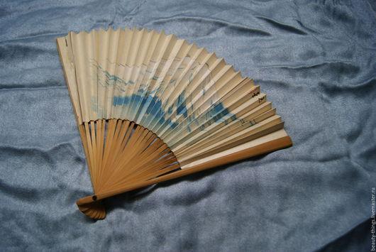 Винтажная одежда и аксессуары. Ярмарка Мастеров - ручная работа. Купить Винтажный веер Япония. Handmade. Винтаж, бумага