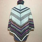 Аксессуары handmade. Livemaster - original item Knitted shawl (shawl, Bacchus). Handmade.