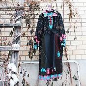 """Одежда ручной работы. Ярмарка Мастеров - ручная работа платье """"шоколад с изюмом"""". Handmade."""
