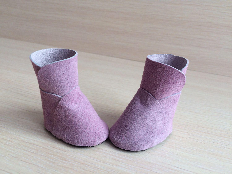 Мастерим сапожки-ботинки для куклы Ярмарка Мастеров 43
