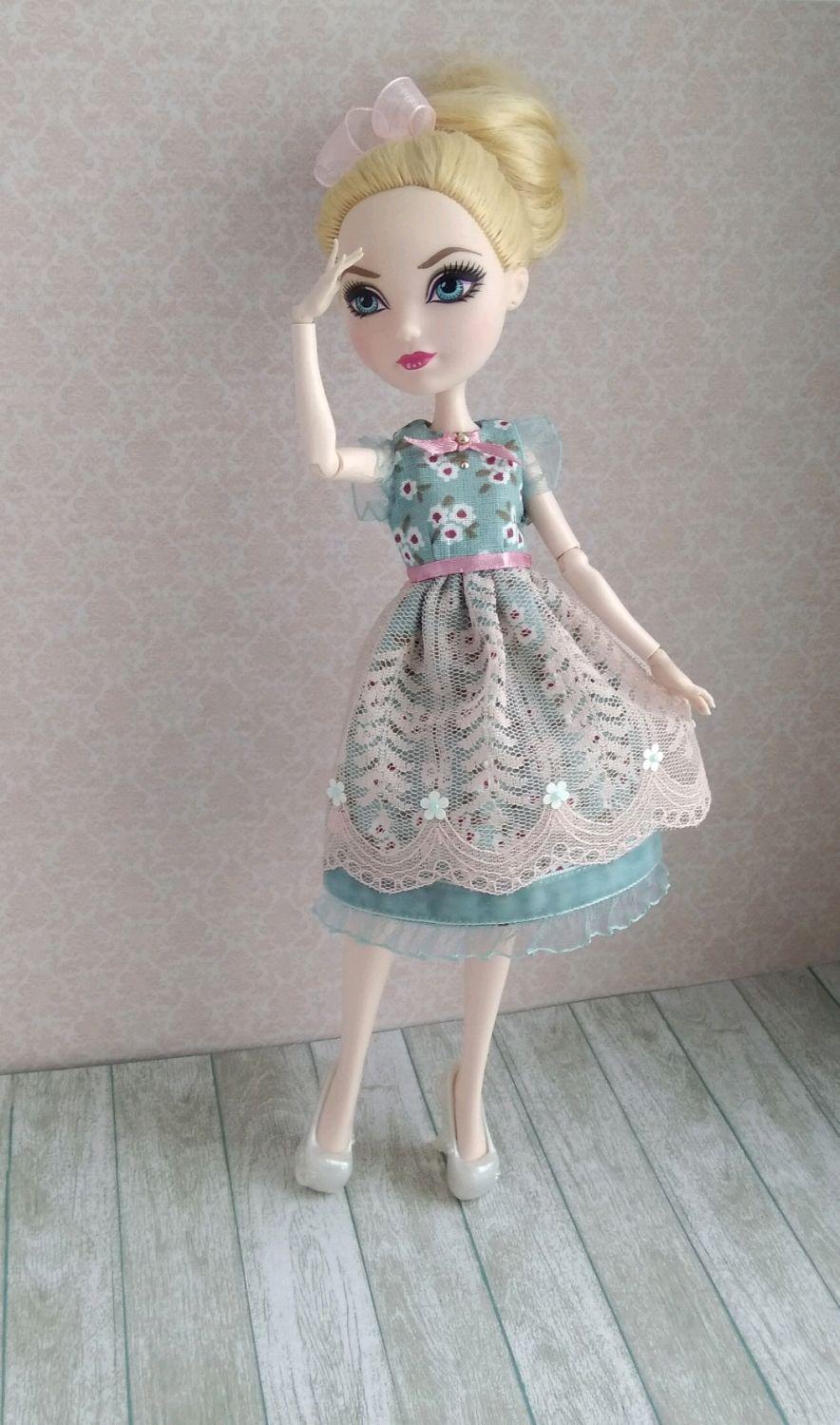 Одежда для кукол ручной работы. Ярмарка Мастеров - ручная работа. Купить  Архив - Платье ... c73bec7c9b7