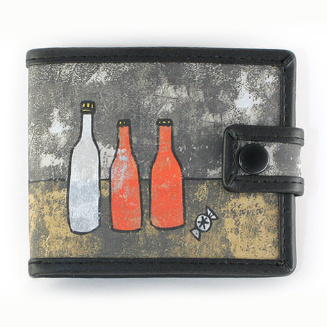 Bags & Accessories handmade. Livemaster - handmade. Buy Purse on the button 'Bottles'.Bottle, purse, February 23