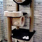 Домик для питомца ручной работы. Ярмарка Мастеров - ручная работа Домик для питомца: Комплекс с двумя лежанками номер 41. Handmade.