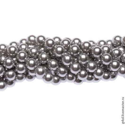 Для украшений ручной работы. Ярмарка Мастеров - ручная работа. Купить Жемчуг Сваровски 6 мм 5810 Light Grey (06 - 616). Handmade.