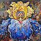 диптих (№1). Авторская живопись Олега Щиголева