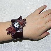 """Украшения ручной работы. Ярмарка Мастеров - ручная работа часы-браслет """"Лилия"""". Handmade."""