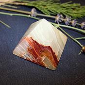 Фен-шуй и эзотерика ручной работы. Ярмарка Мастеров - ручная работа Пирамида из оникса. Handmade.