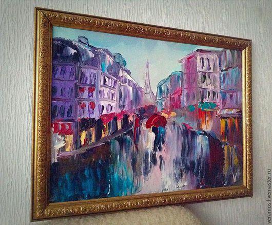 Дождливый Париж
