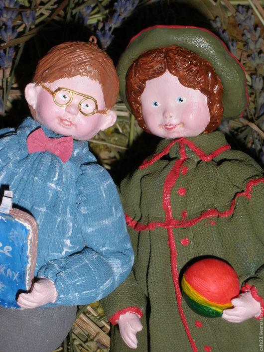 """Коллекционные куклы ручной работы. Ярмарка Мастеров - ручная работа. Купить Ретро игрушка-подвеска """"Таня...!"""". Handmade."""