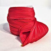Материалы для творчества handmade. Livemaster - original item Silk ribbon Shibori N 120. Handmade.