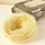 Украшения handmade. Livemaster - original item Brooch, fabric flower. Brooch Nebula.. Handmade.